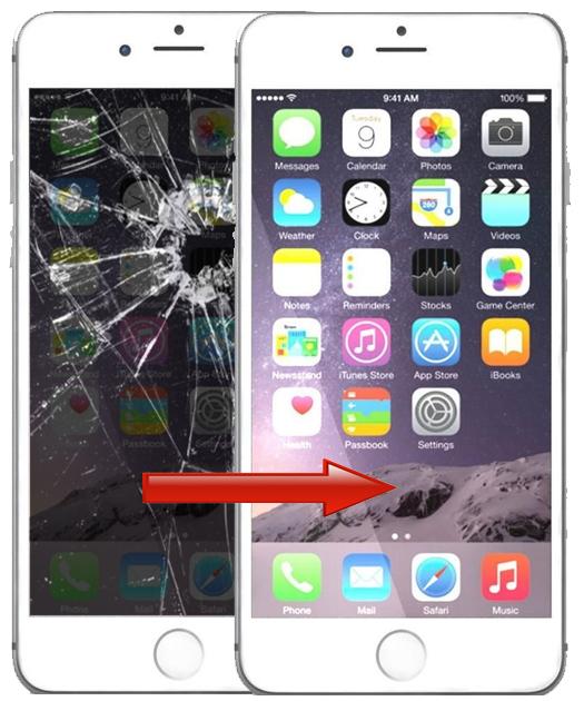 iphone 6 skärm pris