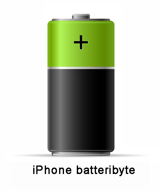 byte batteri iphone 6s örebrp