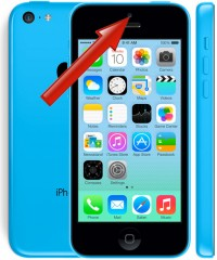 iPhone 5C - Kamera byte (fram)
