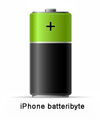 iPhone 8 - Batteri byte