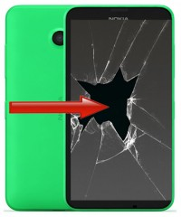 Nokia Lumia 630 - Displaybyte