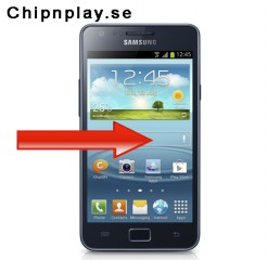 Galaxy S2 LTE i9210  - Displaybyte Svart