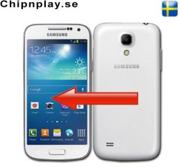 Samsung S4 Mini Glasbyte Vit